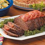 American Tomato Meat Loaf 2 Appetizer
