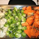 American Roasted Harvest Vegetables with Dijon Mustard Sauce BBQ Grill