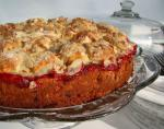 American Cherry Streusel Coffee Cake 2 Dinner
