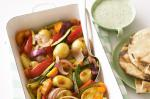 Canadian Roasted Vegetables With Coriander Yoghurt Recipe Appetizer