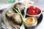 American Sesame Coated Falafel Dinner