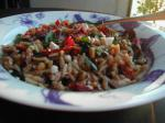 American Orzo with Everything Appetizer