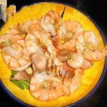 Portuguese Perfectly Cooked Shrimp with Garlic Dinner