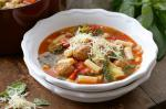 Italian Italian Meatball And Pasta Soup Recipe 1 Appetizer