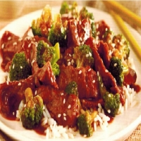 Chinese Beef with Broccoli 2 Dinner