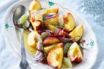 Canadian Peach Lime and Chilli Salad Recipe Appetizer