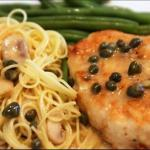 Canadian Chicken Piccata with Capers 1 Drink