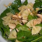American Spinach Pasta Salad Recipe Appetizer