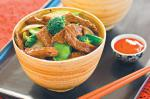American Beef With Snow Peas And Broccoli Recipe Drink
