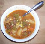 Canadian Hearty Hoosier Beef Vegetable Soup Appetizer