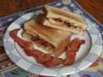 American Peanut Butter and Bacon Sandwich Dinner