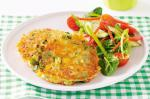 American Vegetable Fritters Recipe 4 Appetizer
