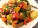 American Roasted Root Vegetables With Maple Balsamic Dressing 1 Appetizer
