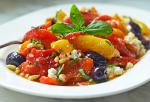 Australian Roasted Pepper Salad with Feta Pine Nuts and Basil  Once Upon a Chef Appetizer