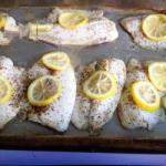 British Broiled Fish Easy Dinner