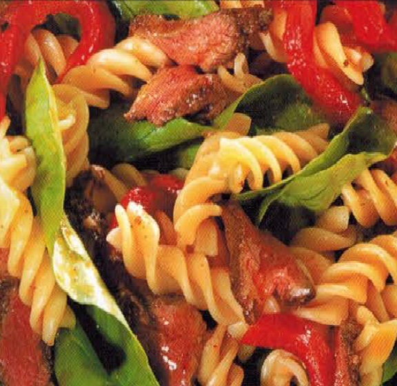 Moroccan Moroccan Lamb And Roasted Pepper With Fusilli Dinner