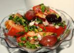 American Marinated Tomatoes for Your Salad or As a Side Dish Appetizer
