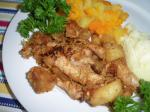 American Pork Chops With Sauteed Apples and Sauerkraut Dessert