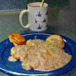 British Dads Lower Fat Sausage Gravy Breakfast