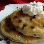 Canadian Pancakes with Chocolate Chunks Dessert