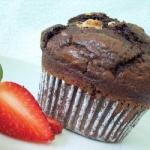 Australian American Jumbo Three Double Chocolate Muffins Dessert