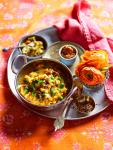 Australian Yellow Dhal with Peas arhar Dhal Matar Appetizer