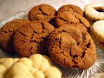 Swedish Swedish Ginger Cookies With Crystallized Ginger Dessert