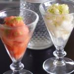 Australian Sorbet With Citrus Vodka and Lime Zest Dessert