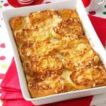 French Savory French Toast Bake Appetizer