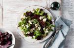 Australian Roasted Beetroot And Goats Cheese Salad Recipe Dinner