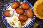 American Hardboiled Eggs Spices Olive And Radishes Recipe Dessert