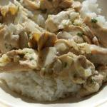 Canadian Pork Fillet with Mushroom Cream Sauce Dinner
