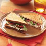 American Tuna Caesar Sandwiches for Two Appetizer