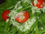 American Green Beans  Green Onions Dinner