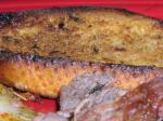 American Grilled Garlic Bread With Thyme Infused Butter Dinner