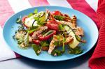 American Grilled Chicken Salad With Parmesan Dressing Recipe Appetizer