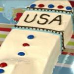 American Rocket Cake childrens Birthday Cake Breakfast