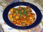 Indian Khasta Aloo spicy Pan Fried Potatoes Appetizer