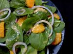 American Spinach and Orange Salad 2 Appetizer