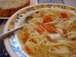 American Cheaters Chicken Noodle Soup Appetizer
