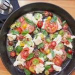 Canadian Mozzarella Tomato and Basil Salad 1 Appetizer