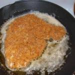 American Breaded Cutlet with Parmesan Cayenne Appetizer