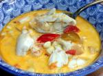 American Corn Crab and Chipotle Chowder Appetizer