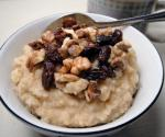 American Homemade Brown Rice Hot Cereal Breakfast