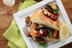 French Haloumi French Toast With Chorizo And Mushrooms Recipe Drink