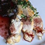 American Chicken with Prunes and Red Wine Dinner