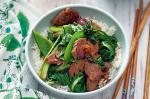 Canadian Fivespice Pork And Greens Recipe Appetizer
