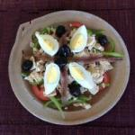 British My Nicoise Salad Easy Appetizer