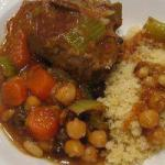 Moroccan Lamb with Vegetables and Couscous to Moroccan Fashion Appetizer