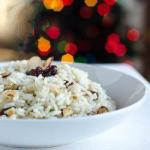 Moroccan Rice with Almonds and Raisins 2 Appetizer